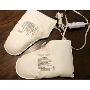 Electric pedicure heated booties